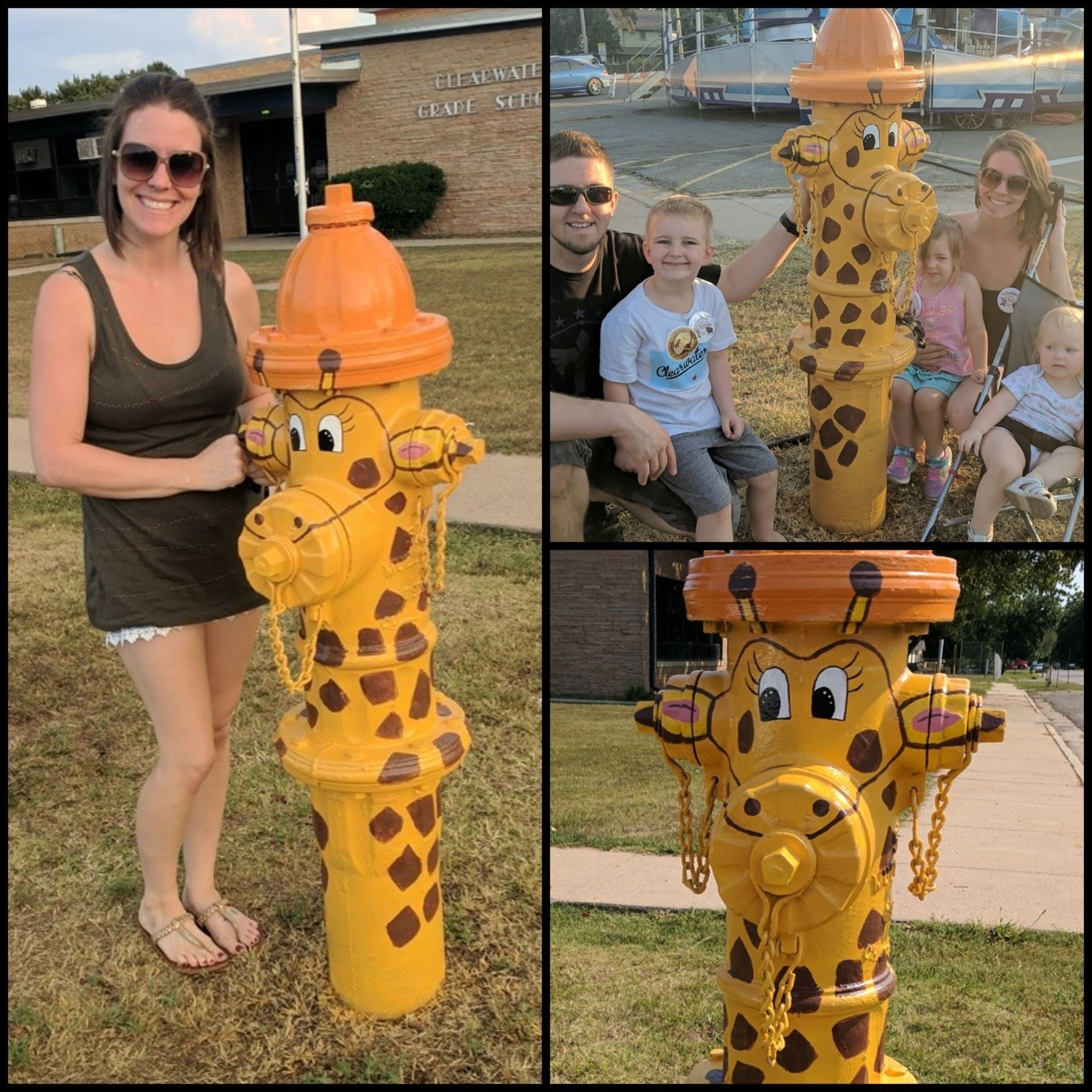 People's Choice Leslie Canady – Giraffe (pictured with Carl, Jase, Jocelyn and RaeAnn Canady)